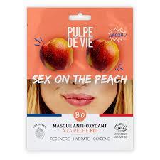 Маска для лица тканевая антиоксидантная (экстракт персика) Pulpe de vie