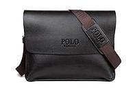 Сумка мужская деловая большая A4 Polo Videng, кожа композитная