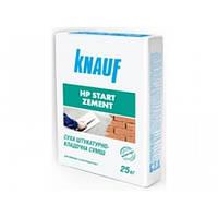 Knauf HP - Start Zement, Фасадная шпаклевка ручного и машинного нанесения, 25кг