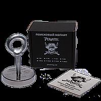 Поисковый магнит F-120 Пират односторонний + трос в подарок, фото 1