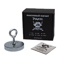 Поисковый магнит F-300 Пират односторонний + трос в подарок
