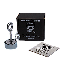 Поисковый магнит F-80х2 Пират двухсторонний + трос в подарок
