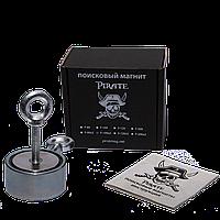 Поисковый магнит F-100х2 Пират двухсторонний + трос в подарок
