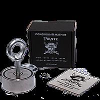 Поисковый магнит F-120х2 Пират двухсторонний + трос в подарок