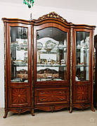 Вітрина (сервант) у вітальню 4Д в класичному стилі, вітальня Париж Sof