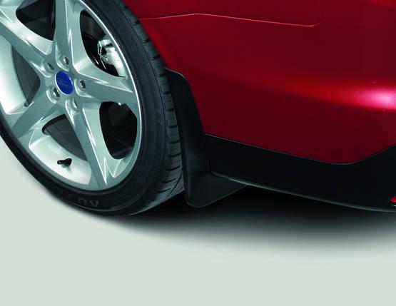Брызговики задние для Ford Focus Sd 2011-седан оригинал 2шт 1722186, фото 2