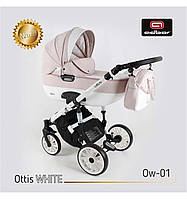 Универсальная коляска 3в1 Adbor OTTIS WHITE, 01