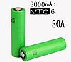 Высокотоковый аккумулятор для бытовой техники Sony VTC 6 18650 30А 3120