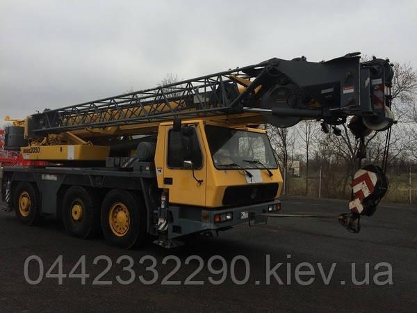 Аренда автокрана 50 55 тонн