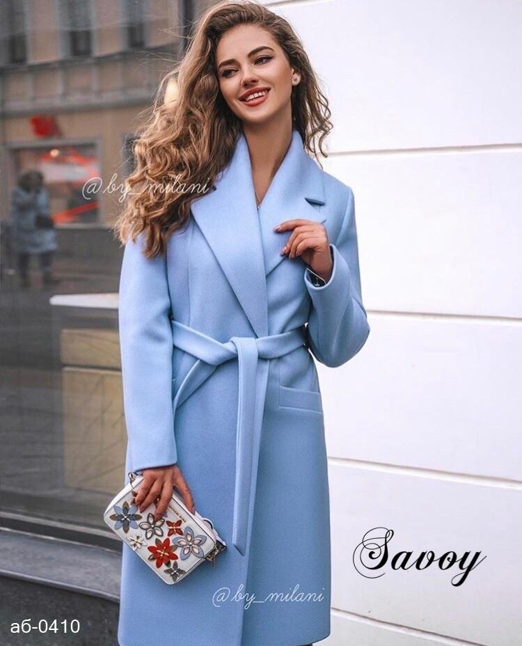 Женское стильное кашемировое пальто Разные цвета