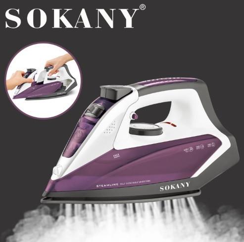 Электрический утюг Sokany AJ-2078 со съемным баком