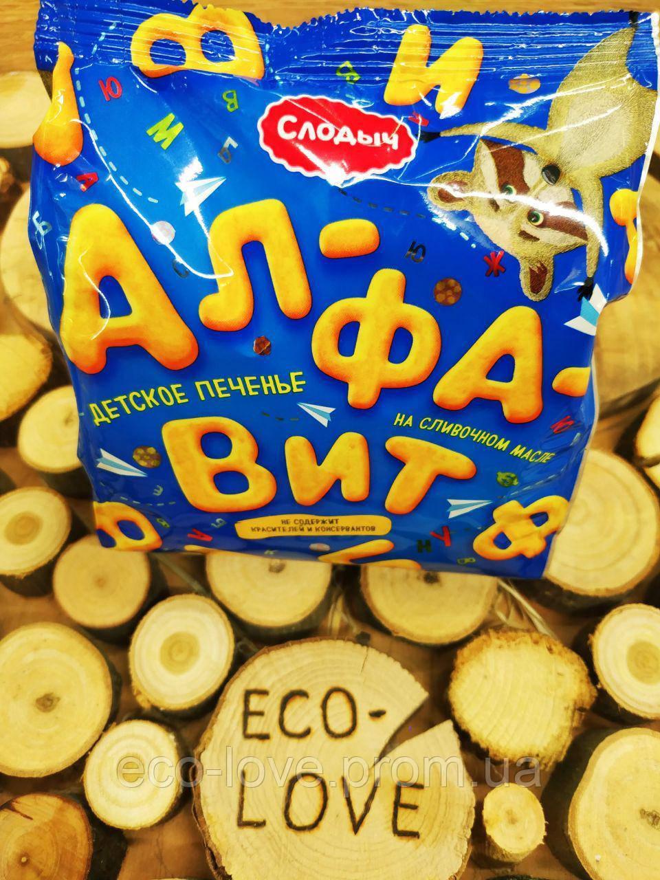 Дитяче печиво Алфавіт, Слодыч, 125 г