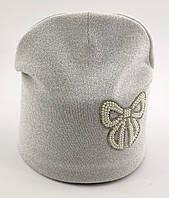 Оптом шапка детская с 52 по 58 размер ангора теплые шапки головные уборы детские опт, фото 1