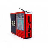 Акустична система Golon RX-1413 радіоприймач акумуляторний FM радіо колонка 16 см, фото 3