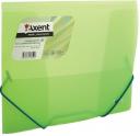 Папка на резинках axent В5, зеленая-прозрачная  1505-26-А