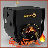 Булерьян «Canada» с варочной поверхностью «00» + стекло и защитный кожух печь кухни на дровах