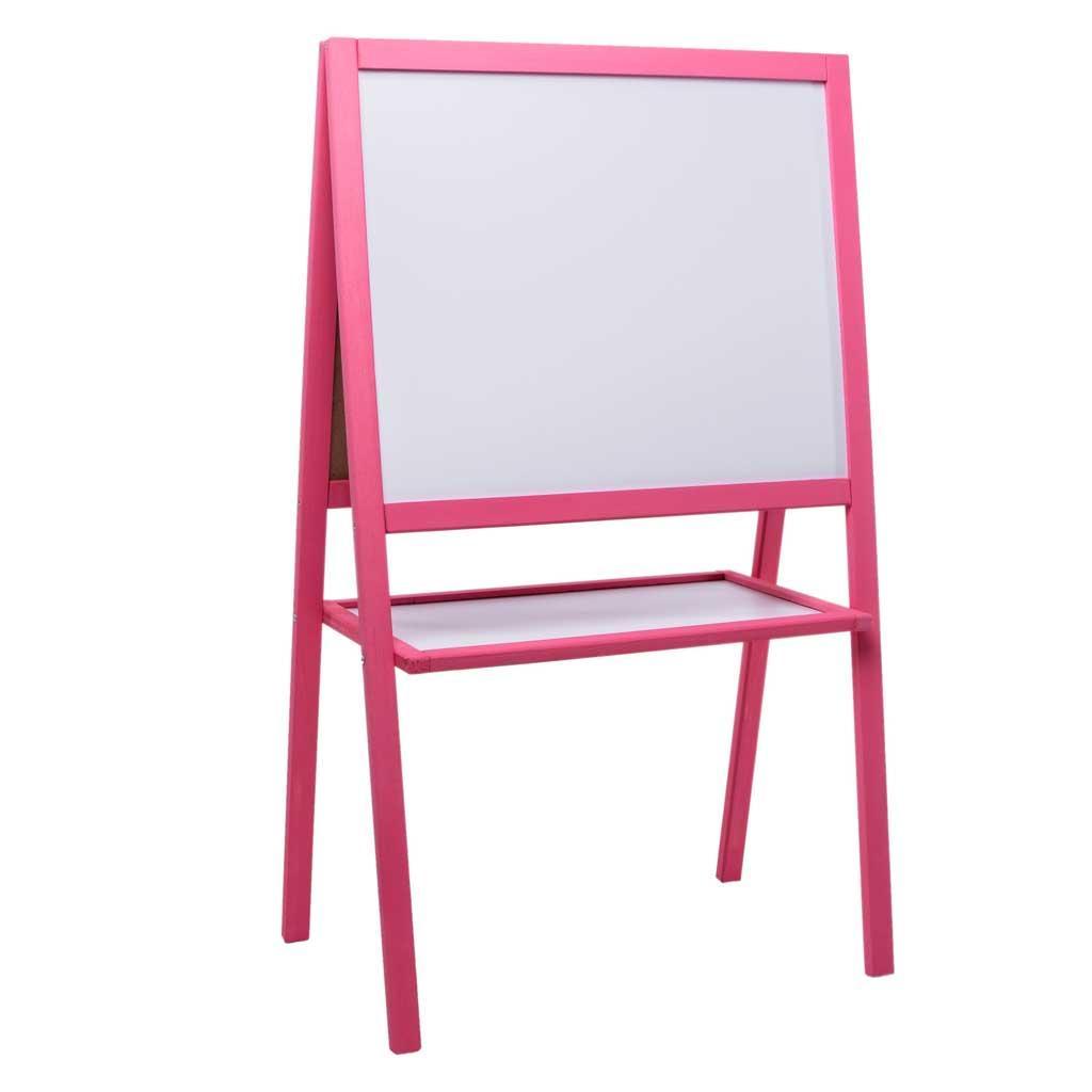 Доска 2-сторонняя д/рисования 4 ноги, цвет. сосна, 110*65*55см