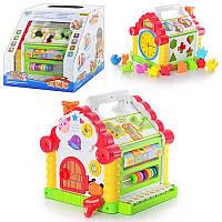 Детская игрушка Теремок сортер 9196