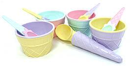 Набір для морозива QLUX 9 предметів MIX (L-611)