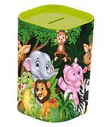 Скарбничка HEREVIN Money Box Тваринки Зелений (161495-002)