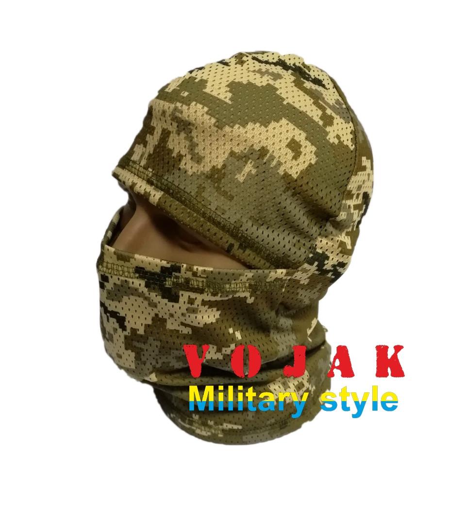 Маска - балаклава сетка (Украинский пиксель)