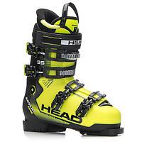 Горнолыжные ботинки Head Advant Edge 95 Yellow Black 2018