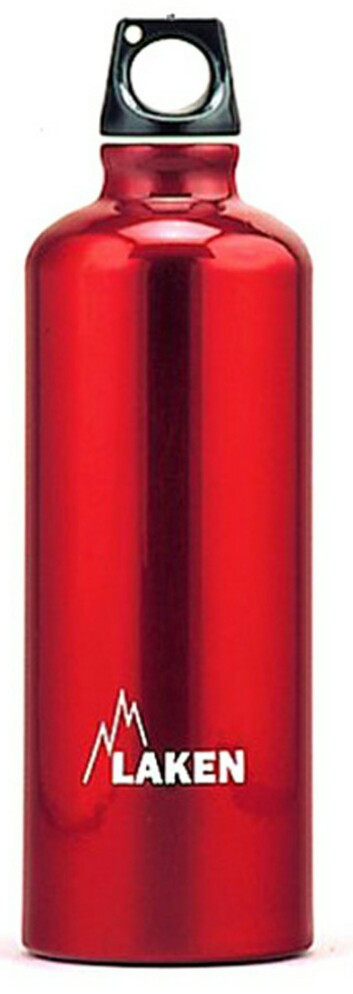 Пляшка для води Laken Futura червона на 0,6 л