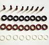 Ремкомплект форсунки впрыска топлива Mercedes G500 0280156153, 0280155744, 0280156014