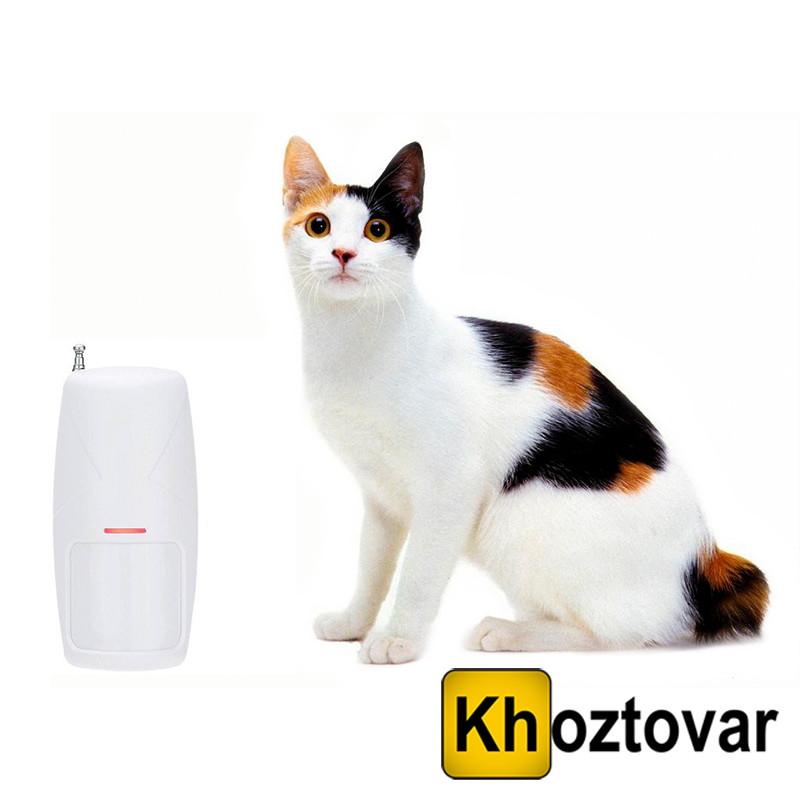 Датчик руху для GSM сигналізації з імунітетом від тварин
