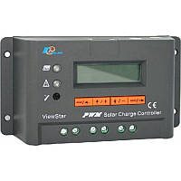 Программируемый фотоэлектрический контроллер заряда ViewStar VS6024BN (60А, 12/24Vauto, PWM, LCD)