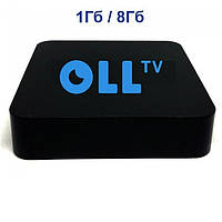 Oll TV BOX | MXQ Pro | 147 каналов + видеотека на 12 месяцев