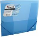 Папка на резинках, синяя axent В5, 1505-22-А