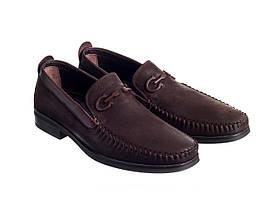 Мокасины Etor 16106-10025 коричневые