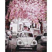 """Картина по номерам """"Volkswagen Beetle"""" КНО3521 scs"""
