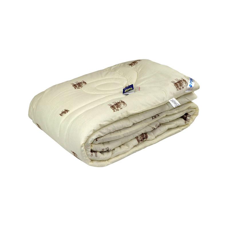 Одеяло шерстяное Руно Комфорт плюс Wool Sheep демисезонное 172х205 двуспальное