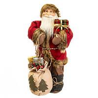 """Фигура """"Дед Мороз с мешком и подарками"""""""