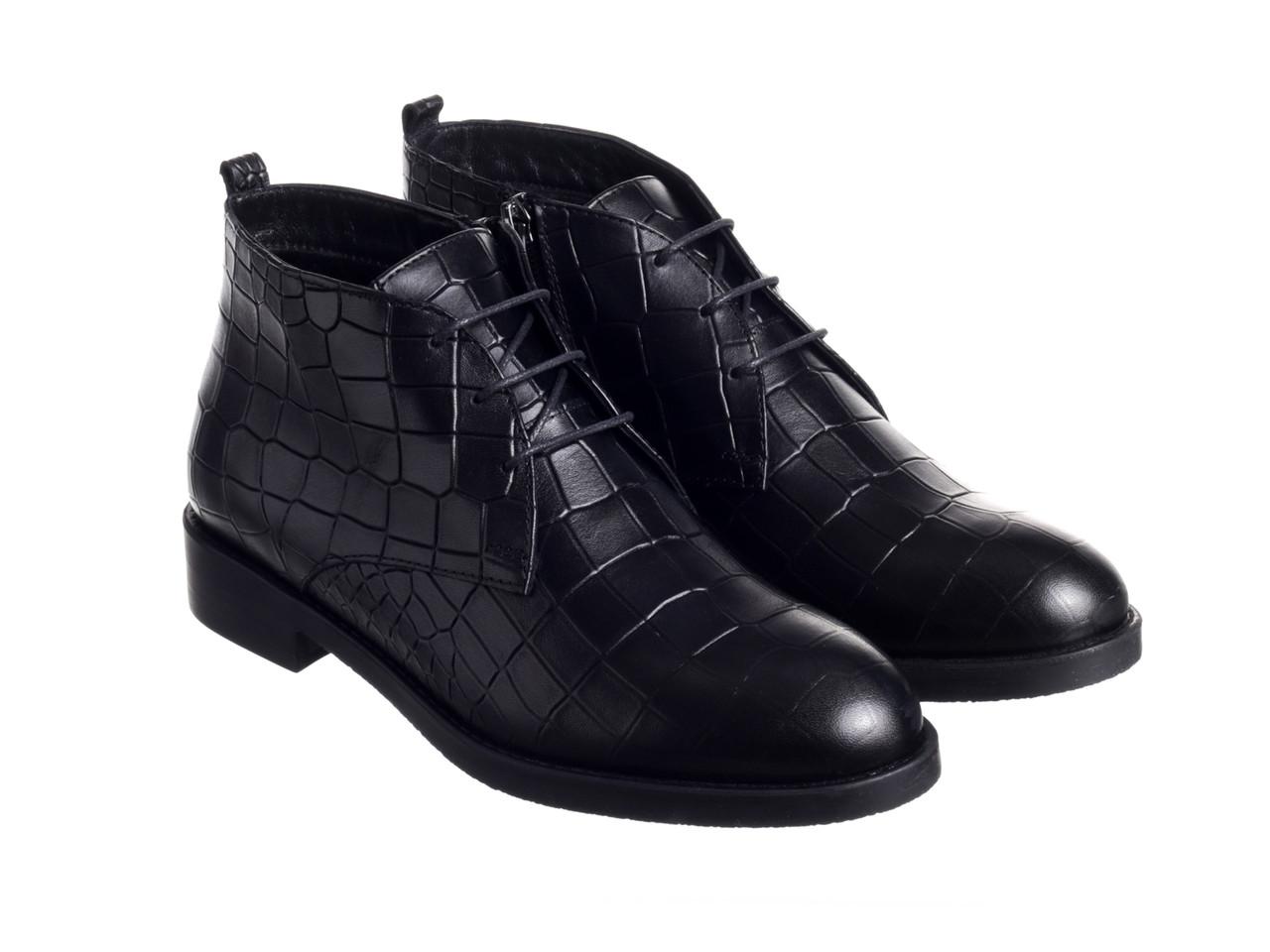 Черевики Etor 7390-1061-1  чорний