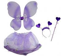 """Карнавальный костюм """"Бабочка с бантиком"""" (фиолетовый)  sco"""