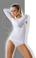 Женская хлопковая футболка с длинным рукавом Chick