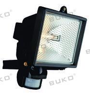 Прожектор галогенный с сенсором WATC WT370 150W чёрный