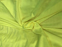 Трикотаж Двунитка (Турция) Лимон неон, фото 1