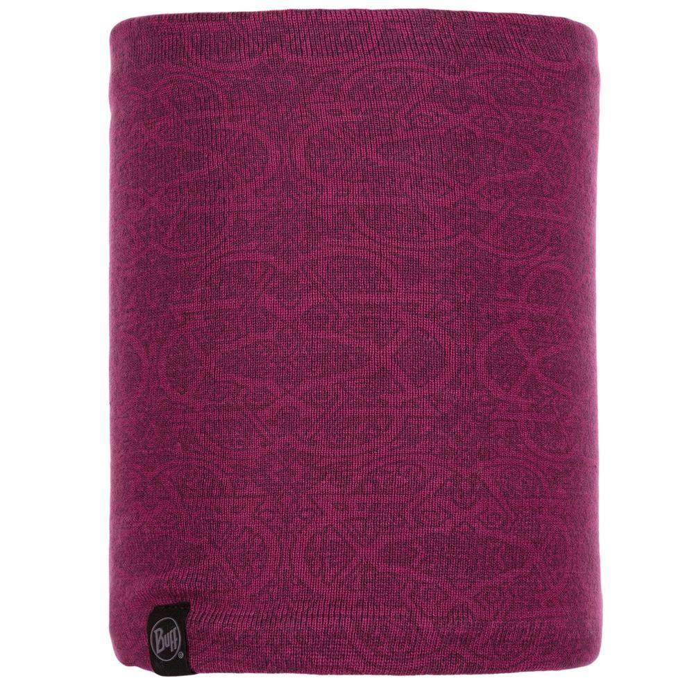 Бафф Buff Knitted & Polar Neckwarmer Greta Purple Raspberry