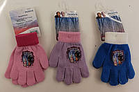 Перчатки для девочек оптом, Disney,  № FR-A-GLOVES-128