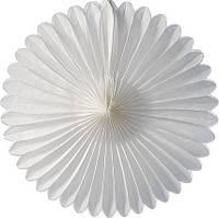 Веер тишью для украшения свадебного зала