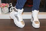 Ботинки женские белые зимние С789, фото 5