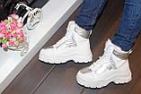 Ботинки женские белые зимние С789, фото 7