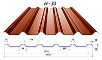 Профнастил H-33