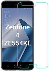 Защитное стекло Asus Zenfone 4 ZE554KL (Прозрачное 2.5 D 9H) (Асус Зенфон 4)