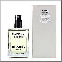 Chanel Egoiste Platinum туалетная вода 100 ml. (Тестер Шанель Платинум Эгоист), фото 1