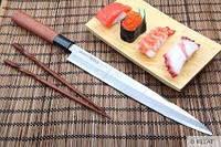 """Нож кухонный Янагиба, 270 мм, Samura """"Okinawa"""" (SO-0111)"""